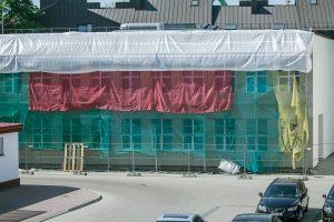 Statybininkų pastangos
