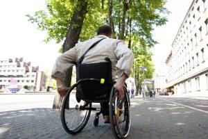 Klaipėdos miestas vis dar nedraugiškas neįgaliesiems?