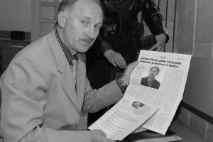 Mirė J. Burba, save įvardijęs Žemaitijos prezidentu