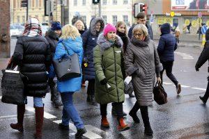 Uostamiesčio mokytojai išėjo į gatves