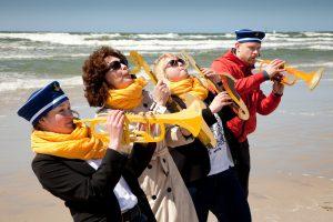 Pasaulinei Vandenyno dienai – menų improvizacijos pajūryje