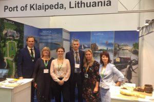 Klaipėdos uostas – didžiausioje kruizų parodoje Europoje