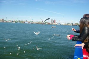 Uostas nenori konfrontacijos su miestu