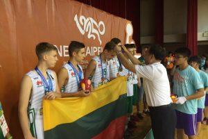 Tarptautinėse vaikų žaidynėse kauniečiai iškovojo 5 medalius