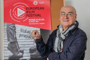 """Festivalis """"GoDebut"""" žvelgs į kino ateitį (interviu, programa)"""