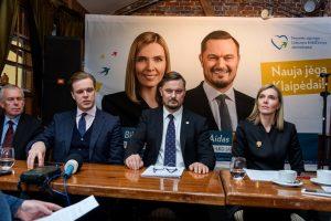 A. Bilotaitė ir A. Kaveckis pasiryžo Klaipėdą paversti geriausia vieta gyventi