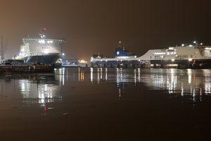 Kalėdinio ir naujametinio uosto žavesys