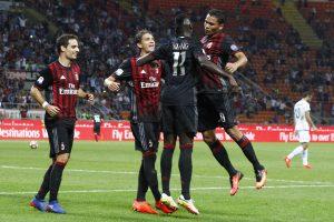 """Italijos futbolo čempionate """"AC Milan"""" pakilo į trečiąją poziciją"""