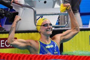 Švedė ir amerikiečiai Budapešte pagerino pasaulio plaukimo rekordus