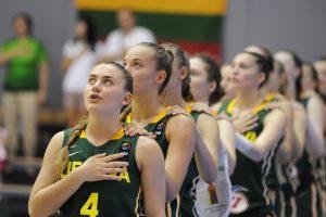 Lietuvos 18–metės merginos Europos krepšinio pirmenybėse kovos dėl 9–16 vietų