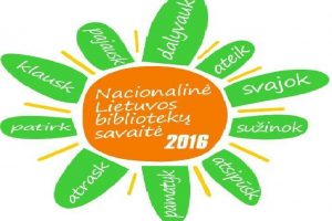 Nacionalinė bibliotekų savaitė Klaipėdą užlies renginiais (programa)