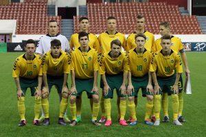 Lietuvos 17–mečių futbolo rinktinė pralaimėjo bosniams