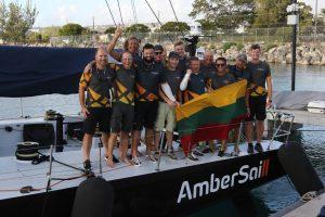 """""""Ambersail 2"""" triumfas Barbadose: lietuviai pagerino lenktynių aplink salą rekordą"""
