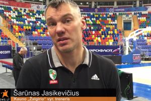 Susitikimo su CSKA laukiantis Š. Jasikevičius: nežinau, ar jie turi silpnų pusių