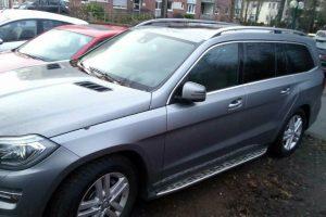 Po surasto pavogto automobilio – padėka pareigūnams