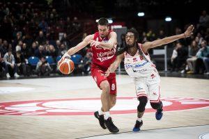M. Kalniečio komanda išlygino ketvirtfinalio serijos rezultatą Italijoje