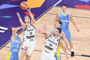 Pirmasis aštuntfinalis: amerikiečio vedama Slovėnija eliminavo Ukrainą