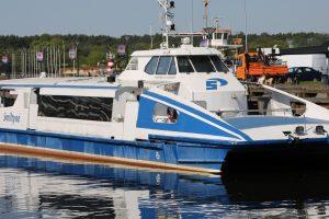 Ieško naujo turistinio laivo pardavėjo