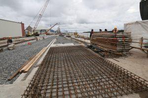 Uosto statybose dominuoja ne lietuviai