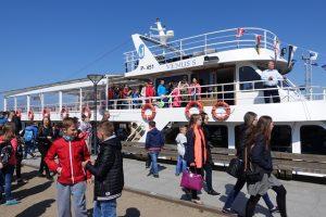 Europos jūros dieną pradedamos ekskursijos uoste