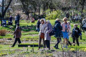 Botanikos sode surengta bendruomenės iškyla