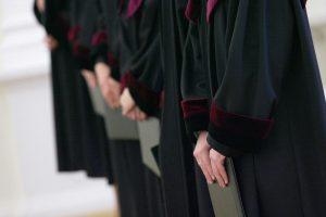 Iš 14-os pretendentų teisėjų egzaminą išlaikė tik du