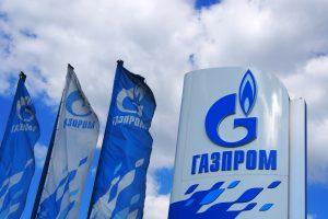"""""""Gazprom"""" skelbia 2016 metais Europai patiekusi trečdalį dujų"""