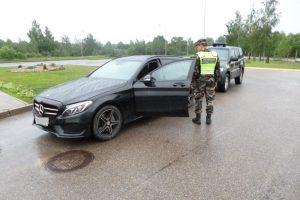 Iškalbinga statistika: kas ketvirtas vogtas automobilis – iš Vokietijos