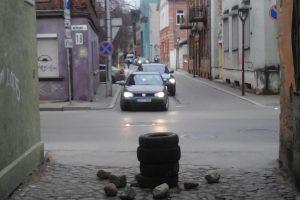 Kauno vairuotojams – dar neregėta kliūtis
