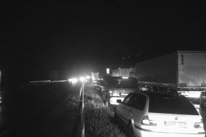 Prie IX forto – šiurpi BMW ir vilkiko kaktomuša, žuvo vairuotoja