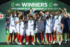 Europos U19 futbolo čempionatą pirmą kartą istorijoje laimėjo anglai