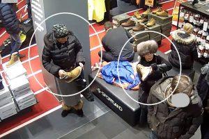 Pamatykite, kaip dvi moterys apvogė vyrą (įžūlus nusikaltimas – nufilmuotas)