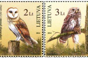 Ant pašto ženklų nutūps dvi nykstančios pelėdos
