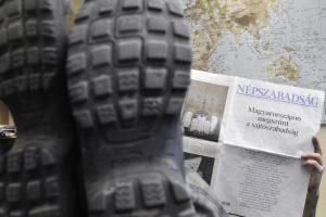 Sustabdyta didžiausio Vengrijos opozicijos laikraščio veikla