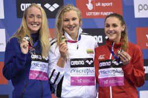 R. Meilutytei – Europos plaukimo čempionato aukso medalis!