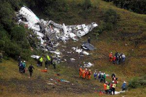 Tarp žuvusiųjų per lėktuvo katastrofą Kolumbijoje – 20 brazilų žurnalistų