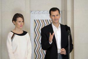 Iš Sirijos prezidento žmonos bus atimta Britanijos pilietybė?