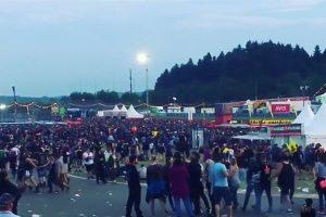 Vokietijoje dėl teroro grėsmės evakuoti roko festivalio dalyviai