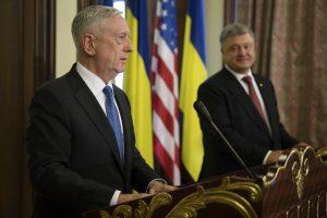 J. Mattisas: Maskva nori jėga perbraižyti sienas