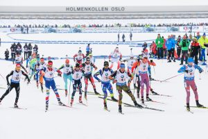 Pasaulio biatlono čempionate lietuviai aplenkė latvius ir belgus