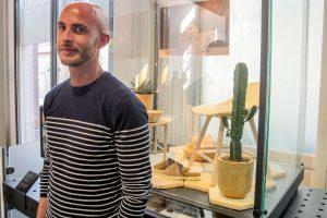 Italų dizaineris kasdien naudojamus daiktus gamina iš grybienos