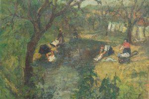 Aukcione ryškėja meno kolekcininkų skonis