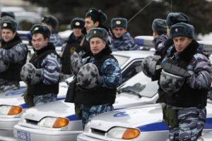 Rusijos policija vaikėsi girto vyro vairuojamą šarvuotį
