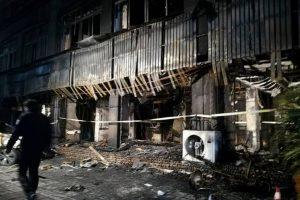 Kinijoje per gaisrą masažo salone žuvo 18 žmonių