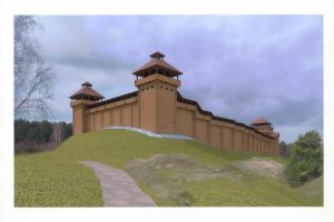 Anykščiuose pradedama statyti Vorutos pilis