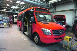 "Į miesto gatves išriedės mažieji ""Mercedes-Benz"" autobusai"