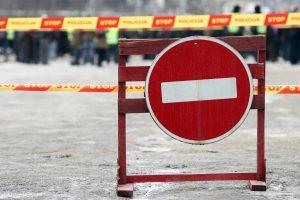 Vandentiekio avarija Vilniuje – jau likviduota