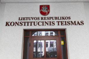 Konstitucinio Teismo atstove pradėjo dirbti G. Maksimaitytė