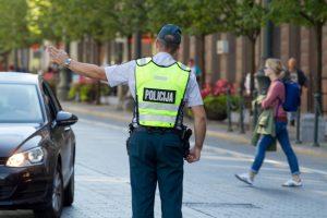 Per savaitę Vilniuje nustatyti 36 neblaivūs vairuotojai