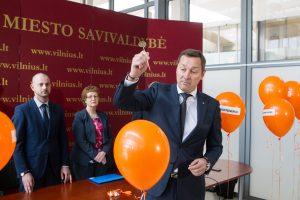 A. Zuokas smaginasi: Vilniaus valdžios pagyros dėl nuveiktų darbų sprogo it balionai